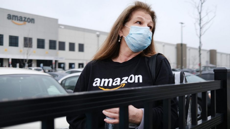 A group of states is demanding Amazon and Whole Foods reveal how many of their employees have the coronavirus