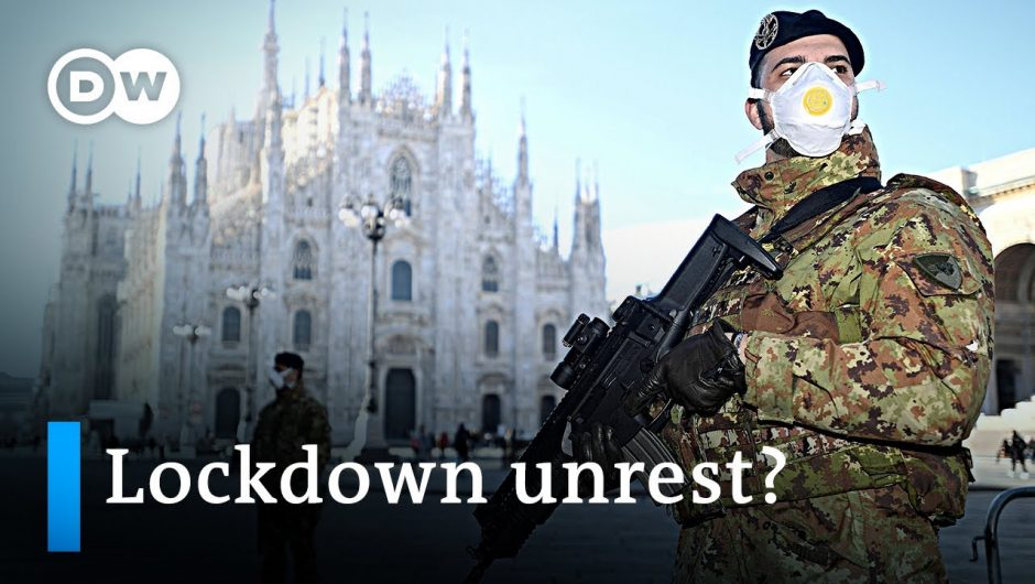 Ongoing coronavirus lockdown in Italy fuels fear of unrest   DW News